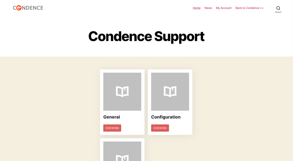 Picture_screenshot_Condence_support_page